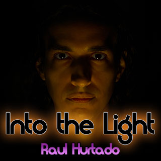 Into the Light artwork showing Raul Hurtado in a dark place
